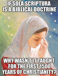 "I always thought it was strange that in Lutheran church I still said ""one holy, apostolic, catholic church"" - like something fundamental had been lost over the past 500 years that wasn't originally intended by Luther. Also, sola scriptura has ""blessed"" us with witch burnings, climate science denial, public schools who won't teach evolution, and Donald Trump as ""Christian"" president. Hmmm...money was corrupting the Catholic church you say? Well what the heck is going on now with protestants?"