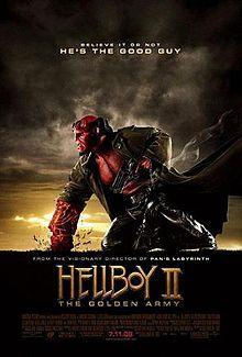 Hellboy II: The Golden Army (2008) starring Ron Perlman, Selma Blair, Doug Jones, Jeffrey Tambor and John Hurt