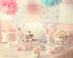 Such a beautiful party - Shabby Chic Princess Tea Party