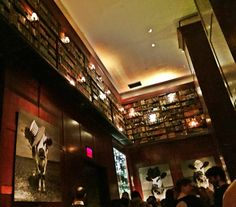 The Library (bar) at The Hudson Hotel NYC