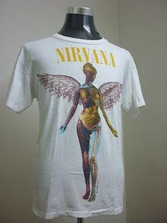 Nirvana In Utero white t-shirt