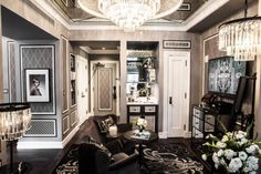Great Gatsby Inspired Hotel Rooms | Built In Chicago