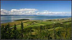 Photo Panorama St-André de Kamouraska par Marcel Houle on 500px