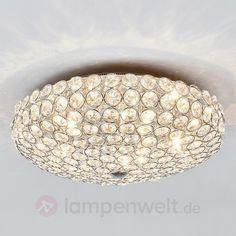 Dekorative Kristall Deckenleuchte Edda Sicher Bequem Online Bestellen Bei Lampenweltde