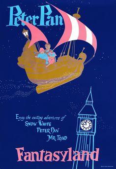 Peter Pan's Flight; Fantasyland; Disneyland