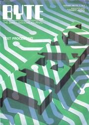 BYTE Magazine : Free Texts : Download & Streaming : Internet Archive