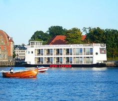 floating hotel Cph Living, Kopenhagen