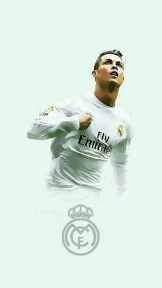 Cristiano Ronaldo of Real Madrid wallpaper.