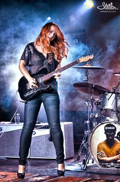 Samantha Fish has a really top notch sounding band and I've seen her a few times at The Zoo Bar and her bass player has been a friend of mine for a while. Check her out if you haven't heard of her!