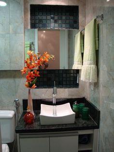 31 Banheiros Pequenos com Dicas e Inspirações para Você