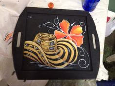 Sombrero Voltiao Arte Country, South America, Decoupage, Beast, Lunch Box, Paintings, Armadillo, Wooden Drawers, Painted Wood