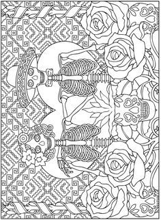 Welcome to Dover Publications True Love Stained Glass Coloring ...