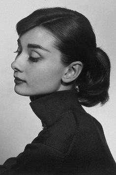 I love this picture of Audrey Hepburn