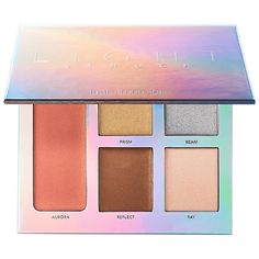 Shop Laura Mercier's Lightstruck Prismatic Glow Palette at Sephora. It features four lightweight, sheer, and blendable cream highlighters.