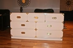 Paint to Order or As Is Bernhardt Campaign Dresser by ExeterFields, $695.00
