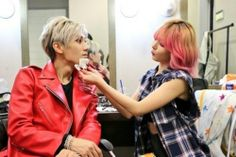 Dois lindos #troublemaker #love #kpop #hyuna