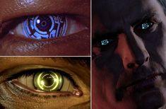 transhuman body modifications | aka Cyborg Eyes, Cybernetic Eyes, Artificial Eyes. Electronic gives us ...
