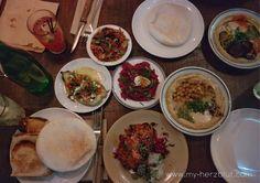 Fantastische Mezze und großartige Hauptgerichte mit orientalischen Aromen... 🥘🍗🍴😋 mehr zu meiner aktuellsten Food Empfehlung für London auf dem Blog!