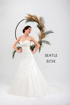 SEATTLE Marie, Seattle, Collection, Rosa Clara, Princess Silhouette, Atelier