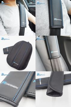 XC90 V40 T5 XC-60 Racing Style Seat belt Pads