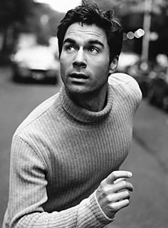 Eric McCormack - this guy makes a turtleneck hot.