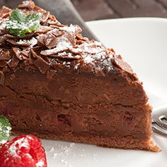 Thanks to Shakeology, this peanut butter chocolate pie has 13 grams of protein per slice.