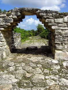 Ixchel was a mayan goddess for fertility. Her major sanctuary was located in San Gervasio on the island Cozumel east of Yucatan.