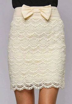 Shell Skirt Crochet Pattern