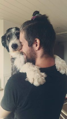 Very proud of this shot of my husband and pup #dogpictures #dogs #aww…