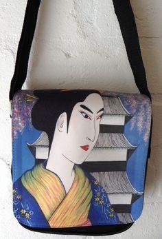 Pagoda Geisha handbag BONUS Heart purse - LAST ONE LEFT Vj Art, Last One, Geisha, Jackson, Purses, Ebay, Handbags, Purse, Bags