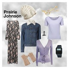"""""""Prairie Johnson (Character from The OA)"""" by milky-tea on Polyvore featuring Helmut Lang, SIJJL, Swarovski, NOVICA, Milly, Casio, Armani Collezioni, tvinspiration, britmarling and TheOA"""