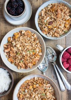 Crunchy Mango and Brazil Nut Granola | Deliciously Ella