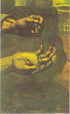 Van Gogh - Zwei Hände, 1885