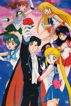 cartoon, 90's, and sailor moon image