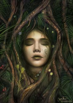 The Dryad by jerry8448.deviantart.com on @deviantART