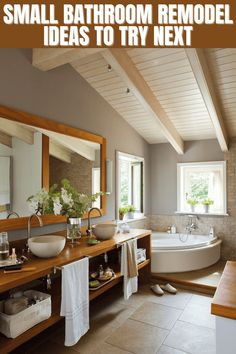 When people have small bathroom, more often they are not sure about how to style the space. There are two options left; hiring professional designer or go bold with your own styling. If you prefer the second choice, then you better learn about the tips and tricks. They will be a big help for you.