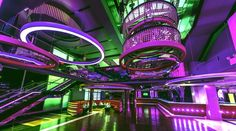 Glazz Nightclub by bluarch architecture + interiors + light , via Behance