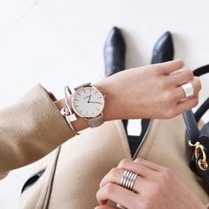 """CLUSE on Instagram: """"Get the office look #CLUSE #watch #minimal #accessories #silver #gold #fashion #style"""""""