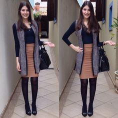 @lookbyus look do dia look of the day style work outfit fashion