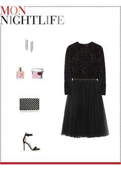 9c05275bd8c Mizhattan - Sensible living with style   MIZZY S WEEKLY WARDROBE  Needle    Thread Tulle Skirt