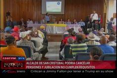 EL alcalde de San Cristóbal Nelson Guillén podría cancelar pensiones y Jubilaciones