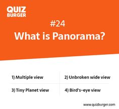 What is Panorama?