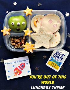 'You're Out of This World' lunchbox theme #WishIHadAWetOnes #ad