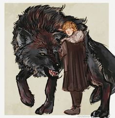 The starks and their direwolves because i love them too much and got is back! 🐾❤️ // for prints♥ Casa Stark, House Stark, Game Of Thrones Direwolves, Game Of Thrones Rickon, Narnia, Power Rangers, Game Of Thrones Artwork, Game Of Thones, Wolf Spirit Animal