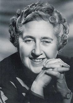 Dame Agatha Christie I spent many hours reading mysteries with sleuths Hercule Poirot and Miss Jane Marple. Loved her characters.
