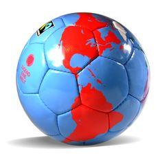 'Eine Welt-Ball' Fussball Soccer Ball, Sports, Kids, Football Soccer, World, Hs Sports, Young Children, Boys, Soccer