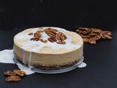 PUMPKIN SPICY CHEESECAKE – Superfood by Mélissa B