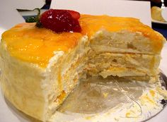 Mango cake is one of the summer special desserts which can be made at your home easily. Your children like to eat mango cake recipe as it's a smooth and delicious dessert.