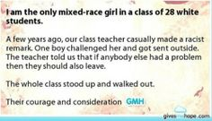 This is the best thing I've read about that's happened in a school