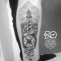 compass dotwork tattoo - Pesquisa Google